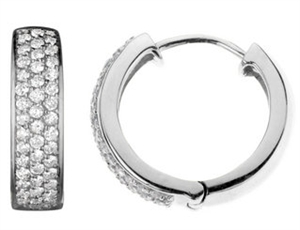 Picture of Diamond Pave Earrings